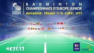 Turkey (Sonmez / Ercetin) vs Russia (Alimov / Davletova) - European Jnr. Team C'ships 2017