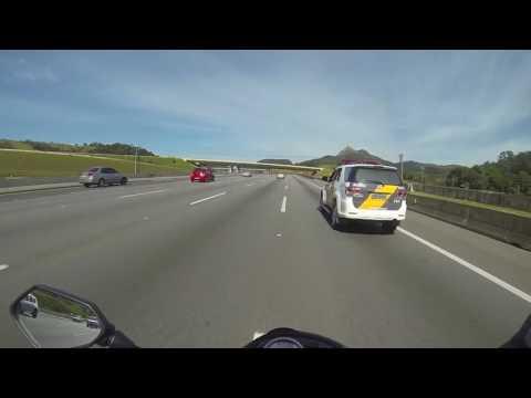 Tentativa de assalto a moto na Rodovia dos Bandeirantes   Z7501