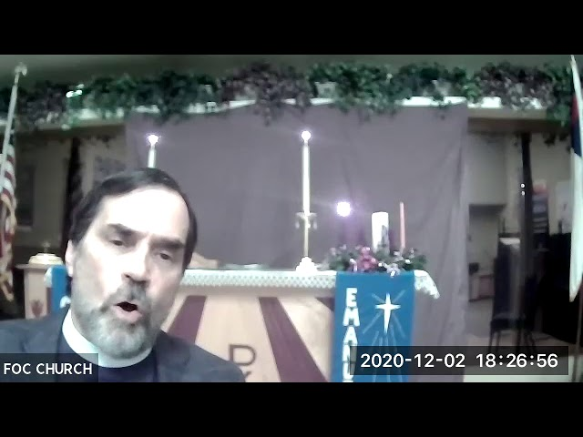 Mid-week Advent Service 12/2/2020