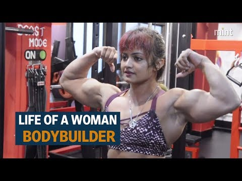 The life of a woman bodybuilder