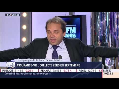 Septembre 2016 : Collecte zéro pour assurance vie