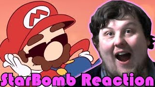 Welcome to the Mario Party! (SICKEST MARIO PARTY RAP!) - STARBOMB REACTION