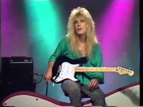 Play Rock guitar with Wolf Marshall (1988)