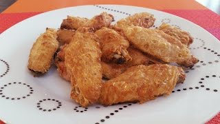 Delicious Crispy Baked Chicken Wings