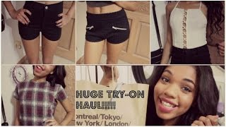 HUGE Summer TRY-ON HAUL: Brandy Melville, American Apparel, Urban Outfitters Thumbnail