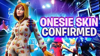 NEW Fortnite ONESIE SKIN! - IT IS CONFIRMED! (Fortnite Battle Royale)