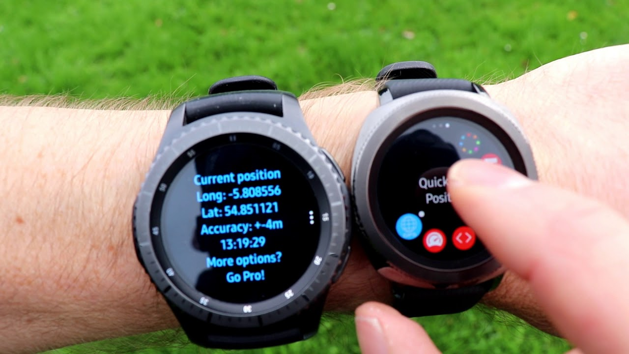 how to use gps on gear s3