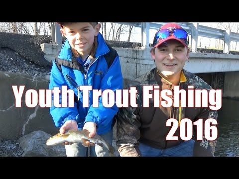 Mentored Youth Trout Fishing Day Pennsylvania 2016