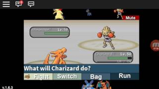 Roblox Project Pokemon|| Swampert Is MVP
