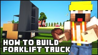 Minecraft Vehicle Tutorial - Forklift Truck