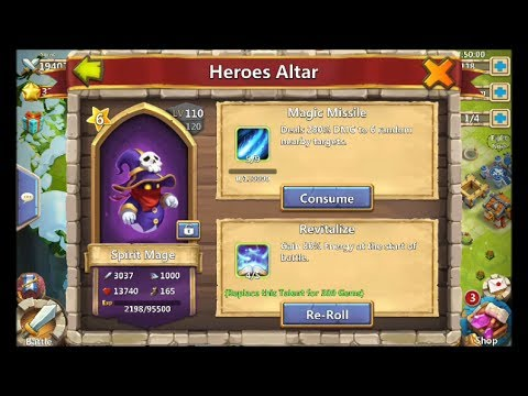 Castle Clash Spirit Mage Giveaway And The Boss Glitch
