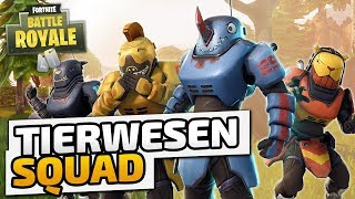 TIERWESEN und wo sie am Grinden sind - ♠ Fortnite Battle Royale ♠ - Deutsch German - Dhalucard