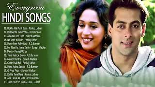 Bollywood best hindi songs evergreen hits old Madhuri dixit and Salman khan !!