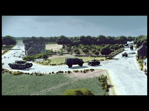 Deploying the British Battlegroup - Huge 8 Player Battle | Steel Division: Normandy 44 Gameplay