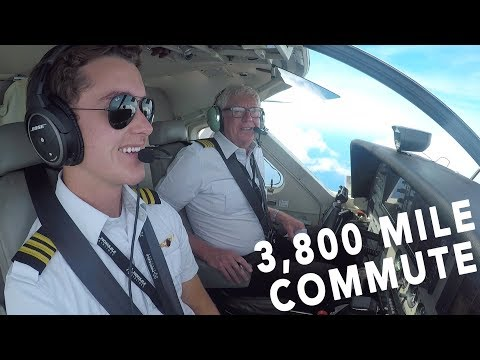 My 3,800 Mile Commute To Hawaii - It's A Pilot's Life