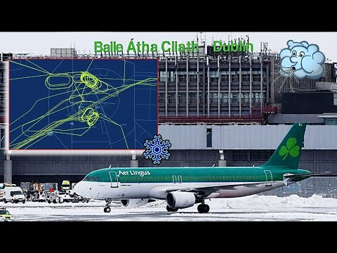 Chaos at Dublin due to heavy snow storm! | Holdings and Diversions