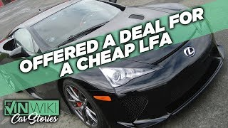 Should I have taken this cheap Lexus LFA deal?