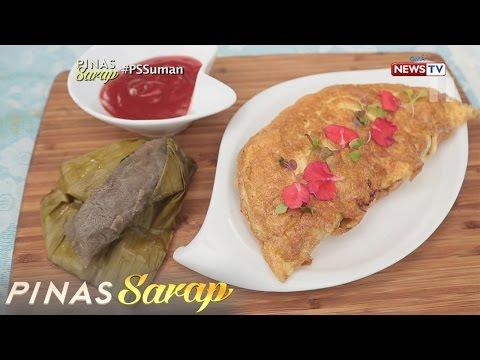 Pinas Sarap: Fusion recipes ng suman