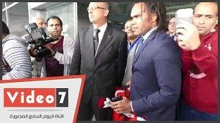 فيديو وصور.. كأس العالم يغادر مطار القاهرة لاستكمال المراسم الترويجية - اليوم السابع