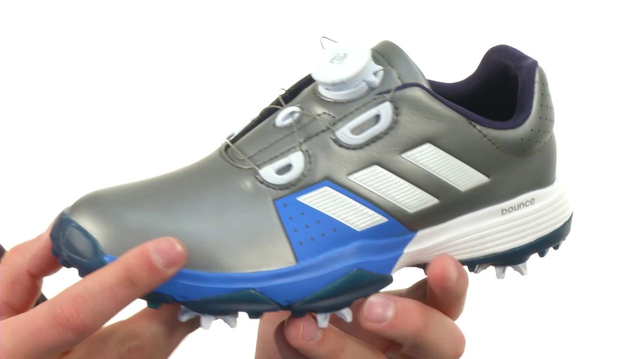 brand new aef93 6cb95 adidas Golf Jr. Adipower Boa (Little KidBig Kid) SKU8825401