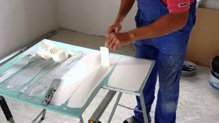 Бумажная лента и шпатлевка(, 2015-07-13T10:25:36.000Z)