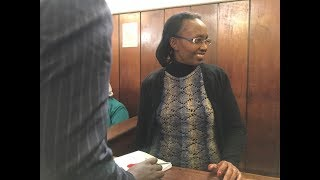 Cat and mouse games as Ferdinand Waititu's wife is re-arrested and presented to court