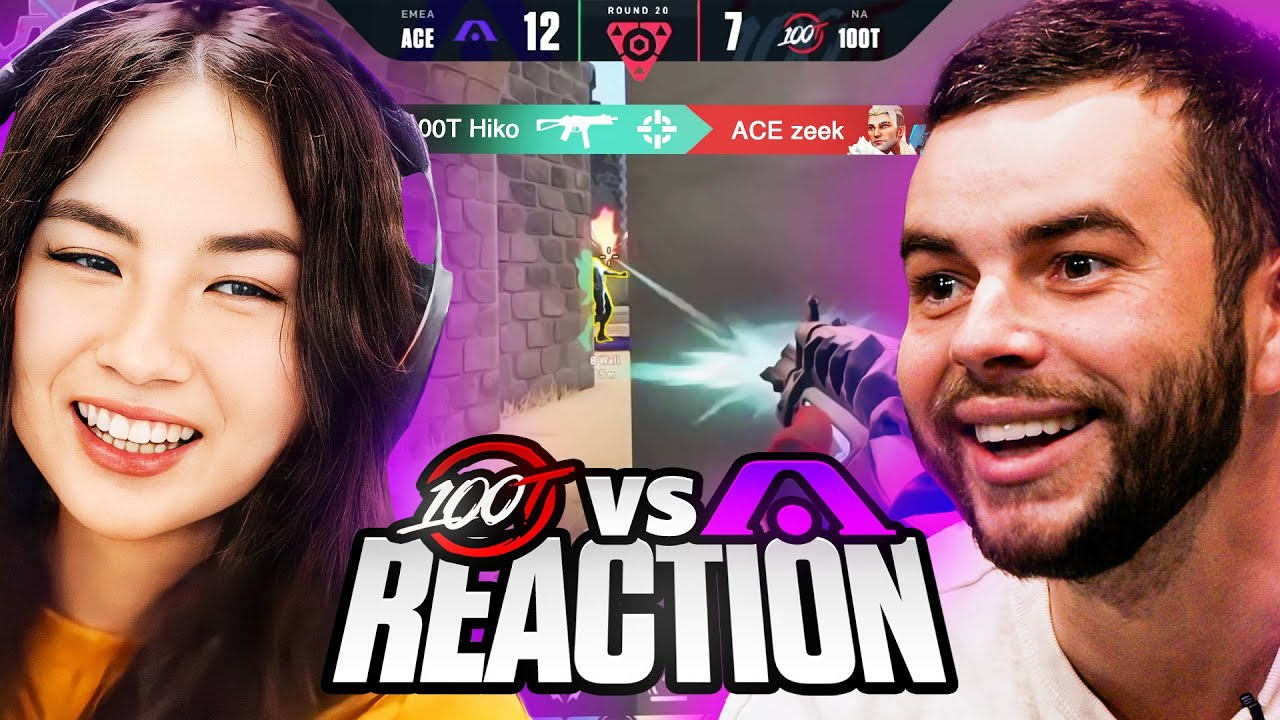 Download Kyedae & Nadeshot REACT to 100T Valorants Amazing COMEBACK! (Vs Acend)   Berlin Masters
