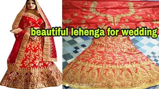 *wedding special*lehenga online|red bridal amazon lehenga|red lehenga|online bridal lehenga review