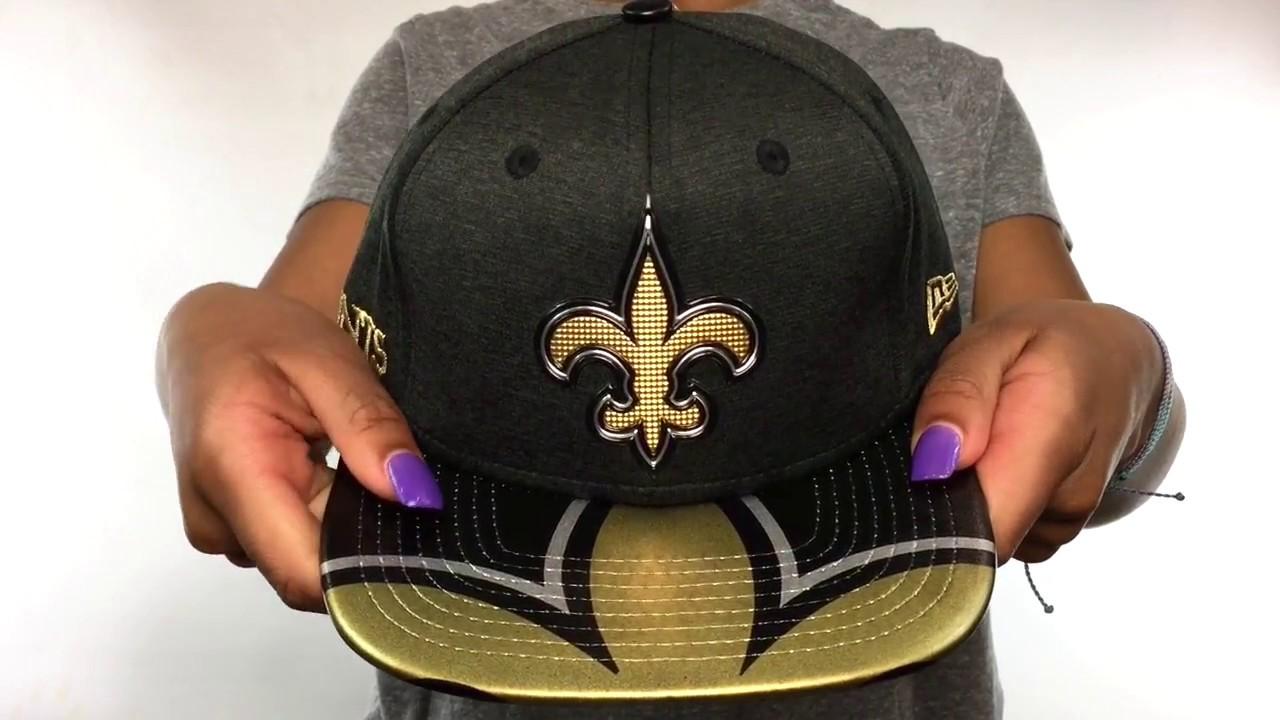 premium selection 00a18 f8da9 Saints  2017 NFL ONSTAGE SNAPBACK  Hat by New Era