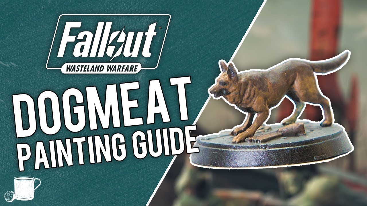 Dogmeat Painting Tutorial from Fallout Wasteland Warfare