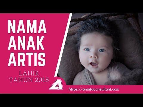 NAMA ANAK ARTIS LAHIR TAHUN 2018