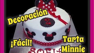 Decoración sencilla. Minnie