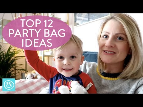 12 Alternative Party Bag Filler Ideas | Channel Mum