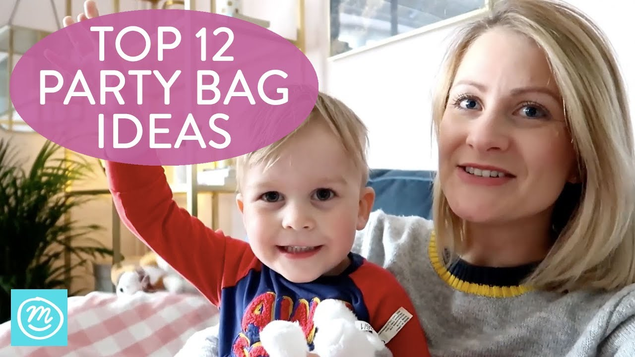 12 Alternative Party Bag Filler Ideas | Channel Mum