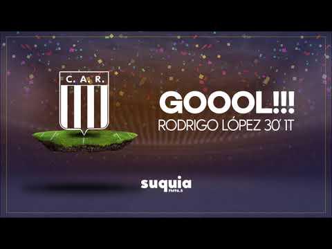 Gol Racing por Rodrigo López   Relata Matias Barzola   Copa Argentina vs. Peñarol   Partido vuelta