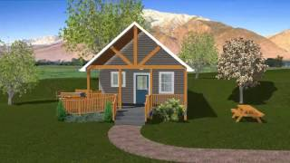 Tiny House 3 - The Oasis. 600 Square Feet. Call Today: 717-989-4491