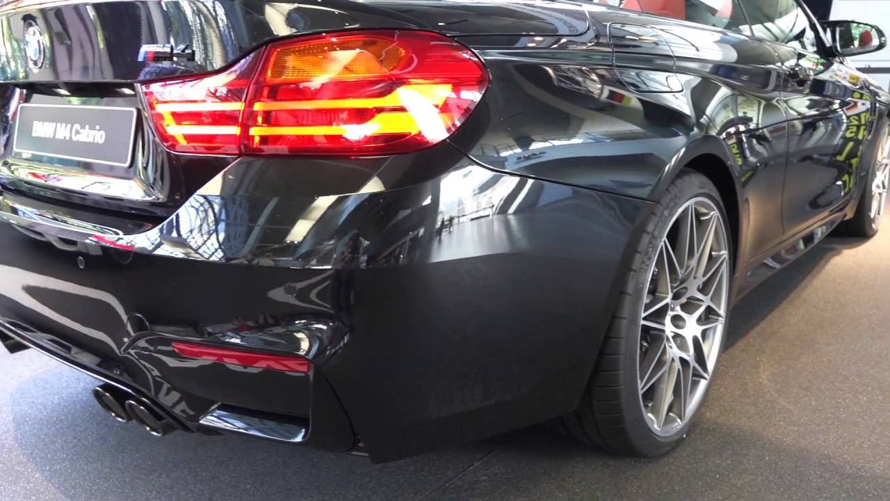 BMW M3 Convertible >> Black sapphire metallic M4 Convertible M Competition Package with M4 GTS wheels and carbon fiber ...