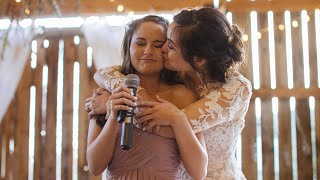 Maid of Honor Sister Speech Leaves Everyone In Tears...