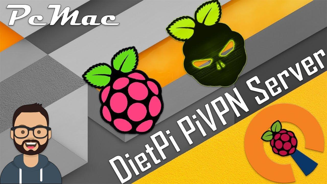 DietPi PiVPN Server Setup on Raspberry Pi 3 B Plus