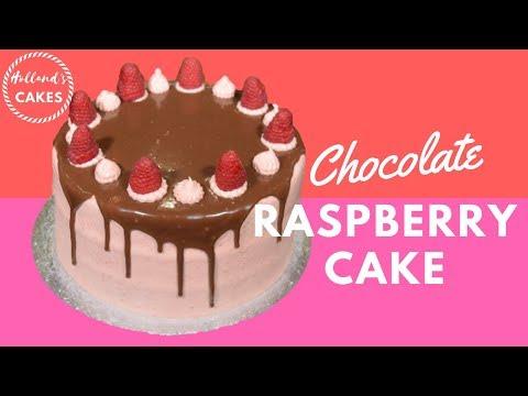 Choc Raspberry Cake | Holland's Cakes