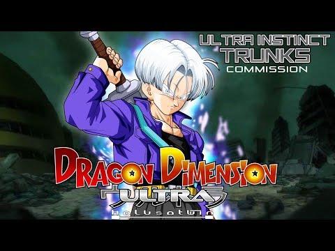 DDU: Ultra Instinct Trunks [Commission]