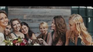 Алина и Даня. Свадьба на крыше Шелка