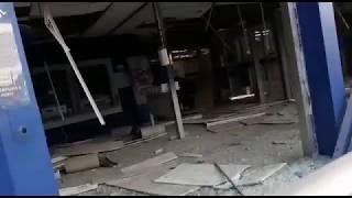 Bandidos explodem caixa eletrônico no Centro de Angra dos Reis