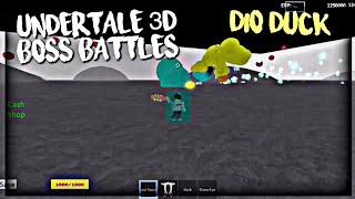 Roblox Undertale 3D Boss Battles: pato dio