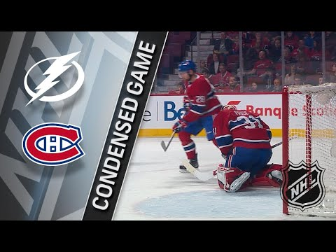 01/04/18 Condensed Game: Lightning @ Canadiens