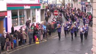 Tiverton Parade & Wreath Laying on Remembrance Sunday 2010