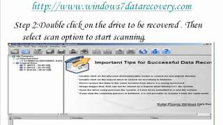 How the Windows 7 data recovery software works.mp4