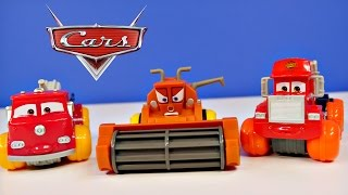 Disney Pixar Cars Frank Hydro Wheels Deluxe Fire Truck Red and Mack Water Racing Car Toys