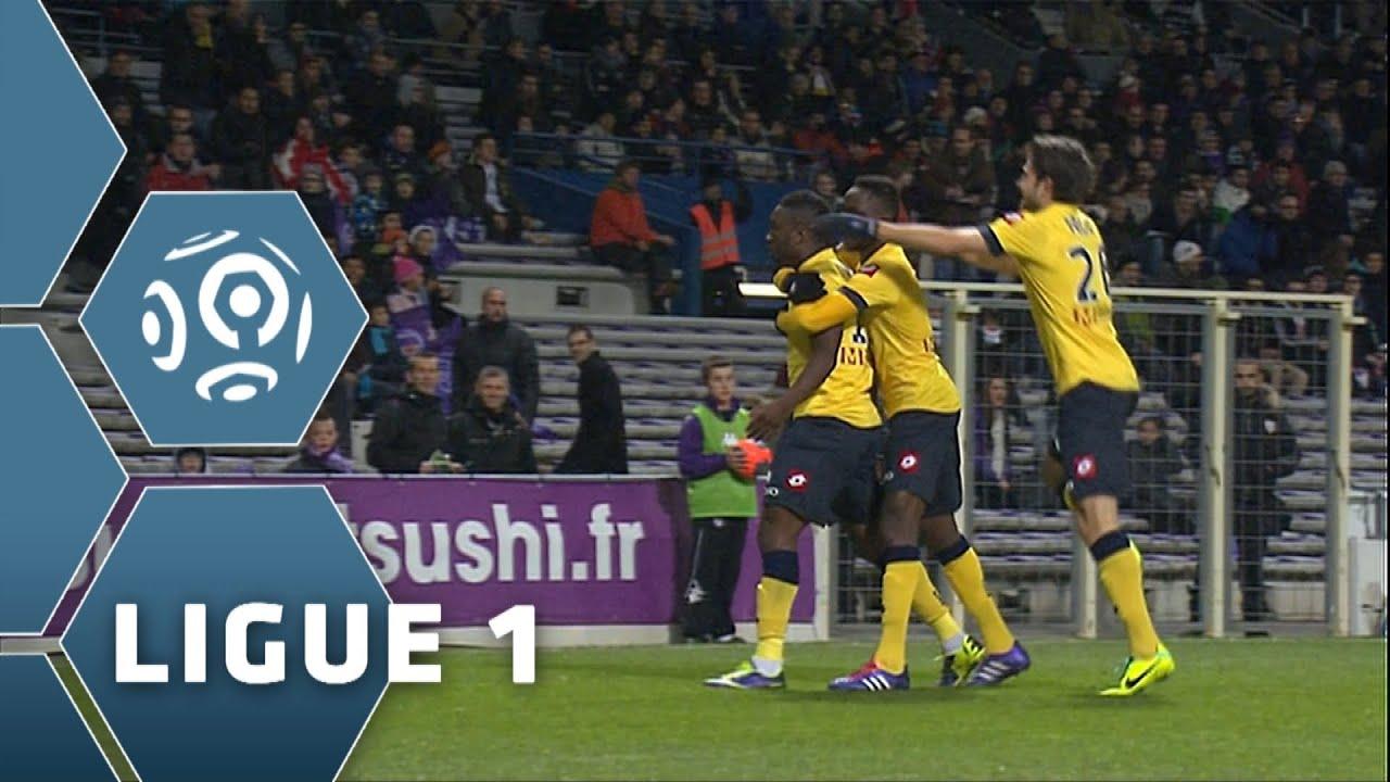 Goal Emmanuel MAYUKA 7 Toulouse FC FC Sochaux Montbéliard