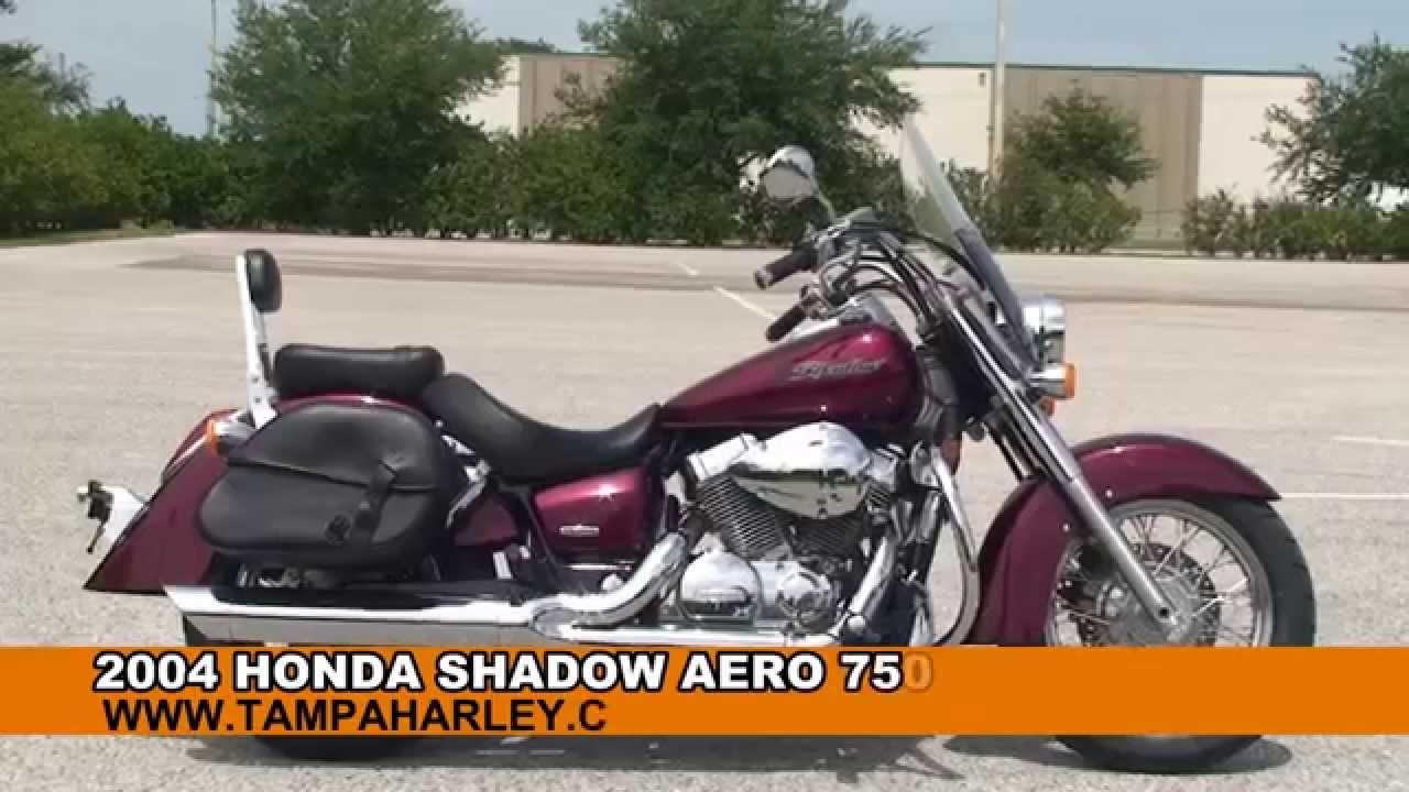 Used 2004 Honda Shadow Aero 750 Motorcycles For Sale Ft